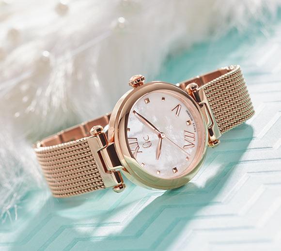 Gc Women Rose Gold Watches