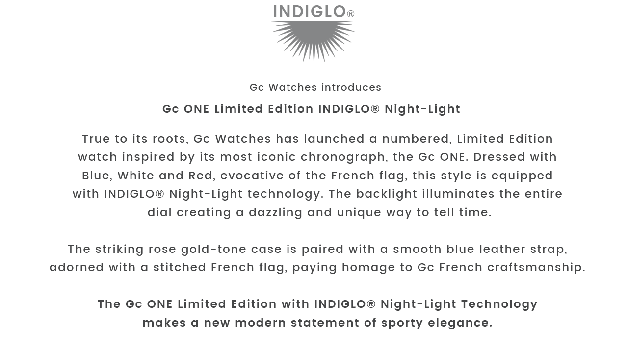 Gc One Limited Edition Indiglo® Night-Light