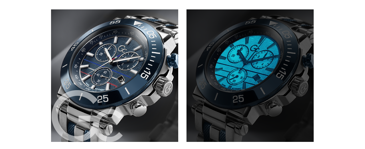 Gc Watches Limited Edition Indiglo® Night-Ligt